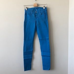 J Brand Coated Blue Denim (Size: 26 )💙
